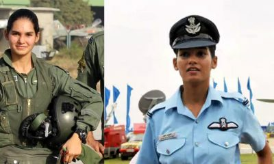 Avani Chaturvedi First Indian woman to fly fighter jet