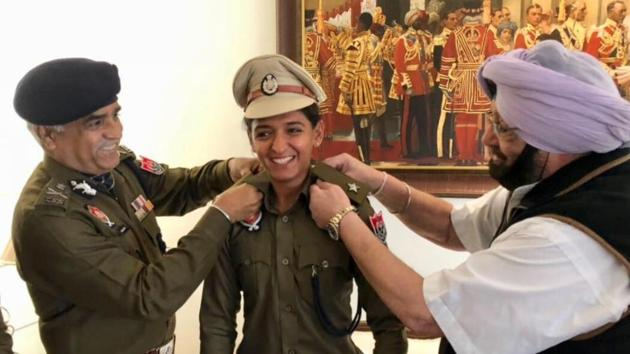 harmanpreet-become DSP in Punjab Police