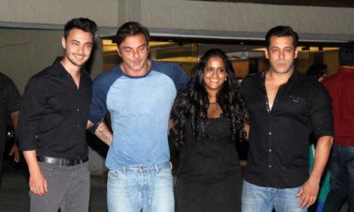 Salman Khan's Sister Arpita Khan & Family
