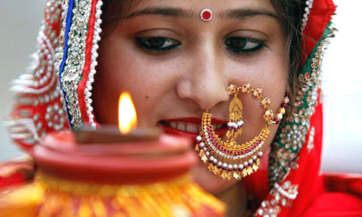 indian women's makeup and science