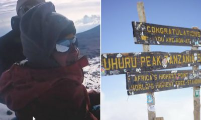 old Hyderabad boy Samanyu Pothuraju climbs highest peak in Africa