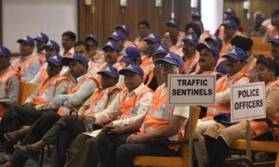72 Year Old ganga ram Delhi Man Traffic Volunteer