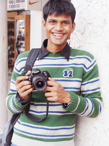 Biography of photographer Vicky Roy in Hindi