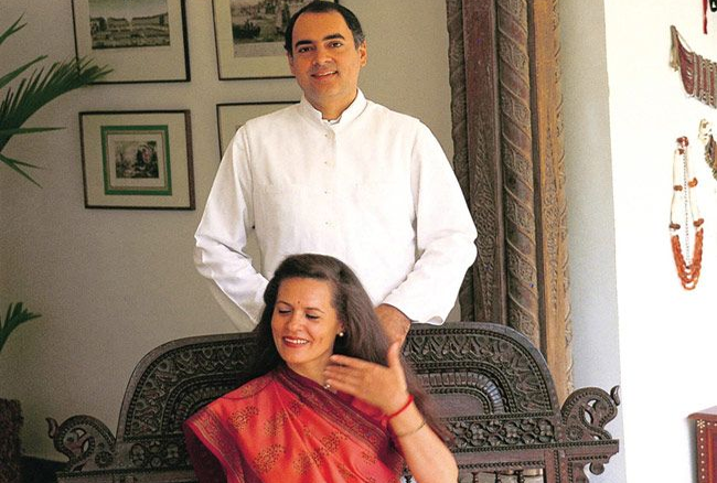 Rajeev Gandhi And Sonia Gandhi Love Story