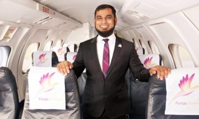 Kazi Rahman owner of airlines
