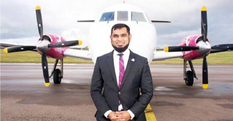 Kazi Rahman owner of airlines