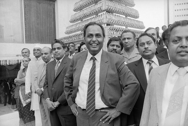 Success Story of Dhirubhai Ambani