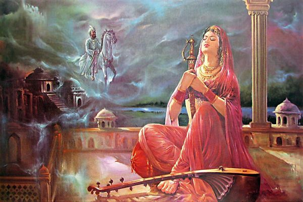 love story of Rani Roopmati and Bajbahadur